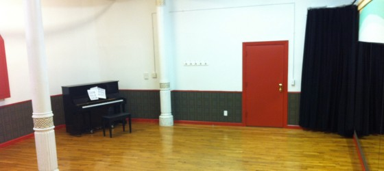 rehearsal space